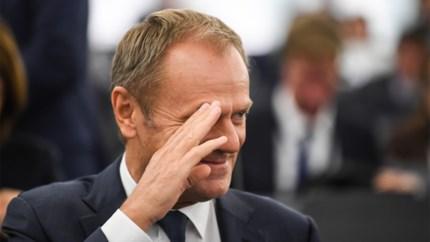 Tusk: 'Nieuw Brexit-uitstel hangt af van beslissing Lagerhuis'