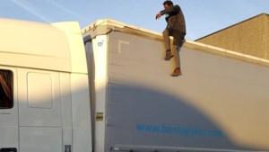 N-VA wil inklimming in vrachtwagens strafbaar maken