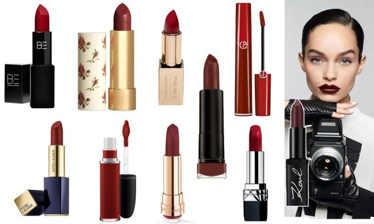 Tien bloedrode lippenstiften voor Halloween