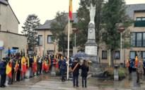 Drie gemeenten eren oud-strijders op fakkeltocht