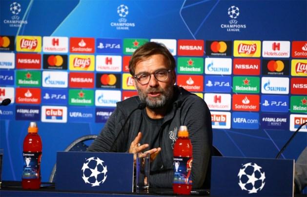 """Jürgen Klopp is op zijn hoede voor Genk maar kan wellicht toch rekenen op Salah: """"Het ziet er goed uit wat Mo betreft"""""""