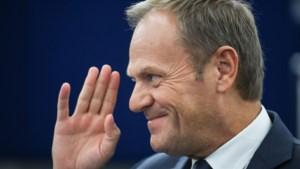 Tusk wil Europese Unie nieuw verzoek om Brexit-uitstel laten goedkeuren