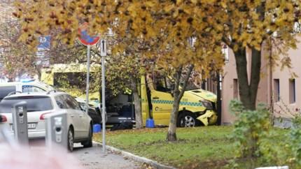Noorse politie opent vuur op man in gestolen ziekenwagen: meerdere mensen aangereden