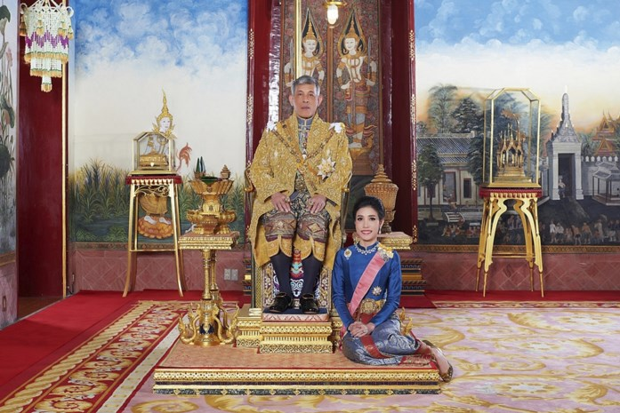 Thaise koning is concubine al beu