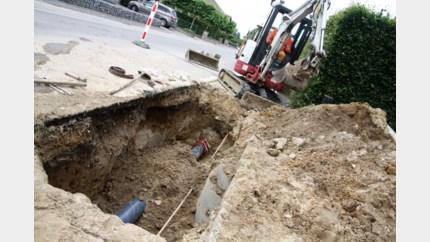 Heraanleg waterleiding uitgesteld