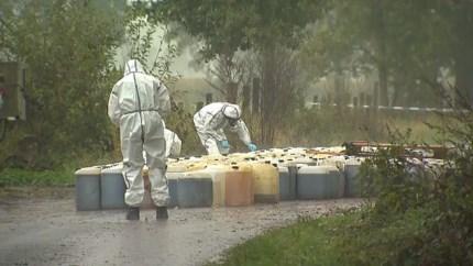 Opruimen drugsvaten in Limburg kost belastingbetaler meer dan 300.000 euro