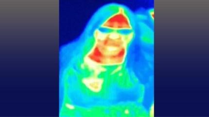 """Toeriste ontdekt borstkanker dankzij thermische camera in museum: """"Het heeft mijn leven gered"""""""