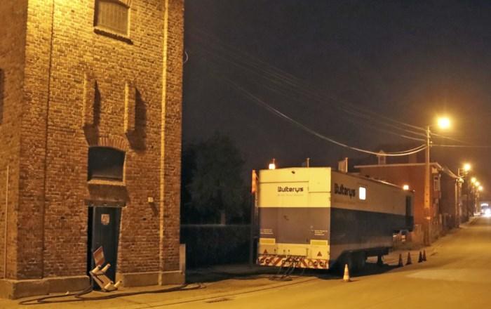 Generator voorziet honderdtal huizen tijdelijk van stroom in Sint-Truiden