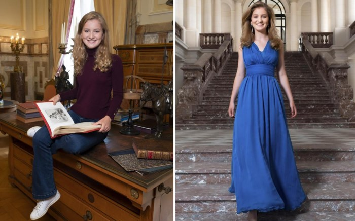 Nieuwe foto's tonen twee gezichten van prinses Elisabeth