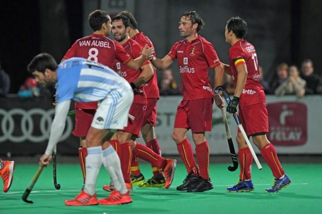 Red Lions winnen oefenwedstrijd tegen Argentinië
