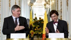 Ontmoeting Jambon en Di Rupo: praten over alles, behalve over federale formatie