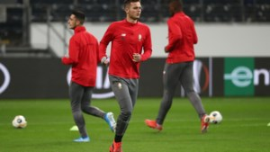 Hasselaar Zinho Vanheusden out voor match van Standard tegen Frankfurt