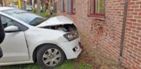 Zeventigjarige vrouw crasht tegen gevel van rusthuis