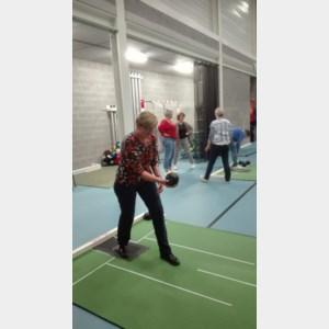 KVLV Kortessem op bezoek bij curve bowlclub Blijf Jong Kortessem
