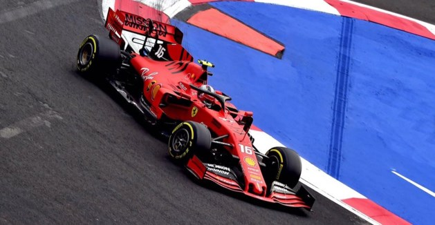 Ferrari bovenaan in laatste oefensessie GP van Mexico