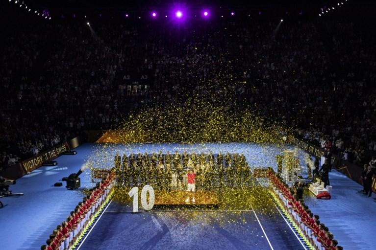 Roger Federer is voor de tiende keer aan het feest in eigen Bazel