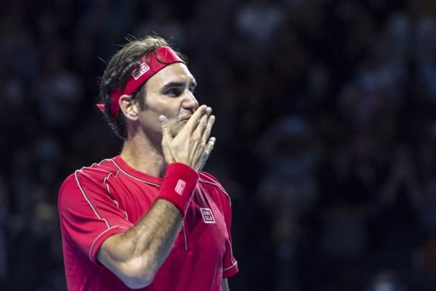 Roger Federer laat Parijs schieten
