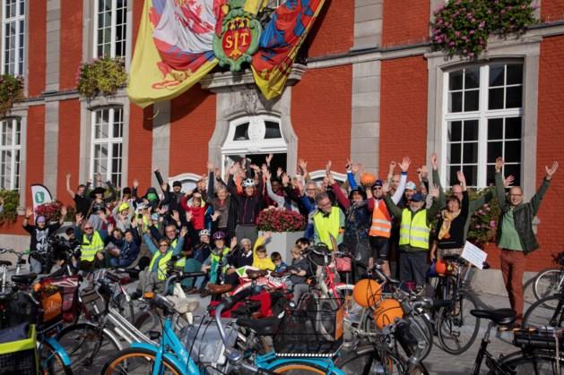Recordaantal fietsers op Critical Mass Sint-Truiden