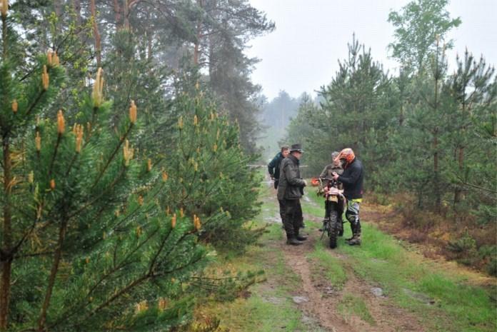 2.000 euro boete en borgsom voor in fuik gevangen wildcrossers