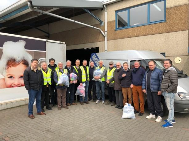 Kledinginzamelactie Lionsclub Sint-Truiden