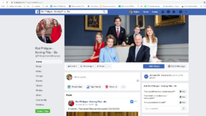 Paleis rapporteert fake Facebookprofiel van koning Filip met 6.500 volgers