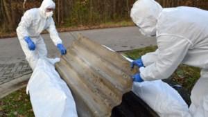 Vanaf de lente wordt bij alle Limburgers asbest aan huis opgehaald