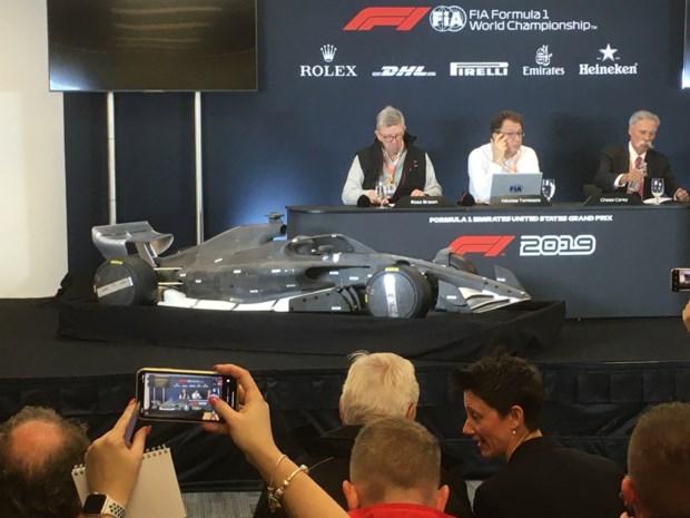Nieuwe F1-reglementen voor 2021 onthuld in Austin