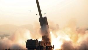 """""""Noord-Korea testte supergroot systeem met verschillende raketwerpers"""""""