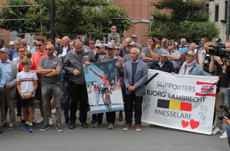 Mooi eerbetoon: Ronde van Polen haalt rugnummer van Bjorg Lambrecht uit wedstrijd