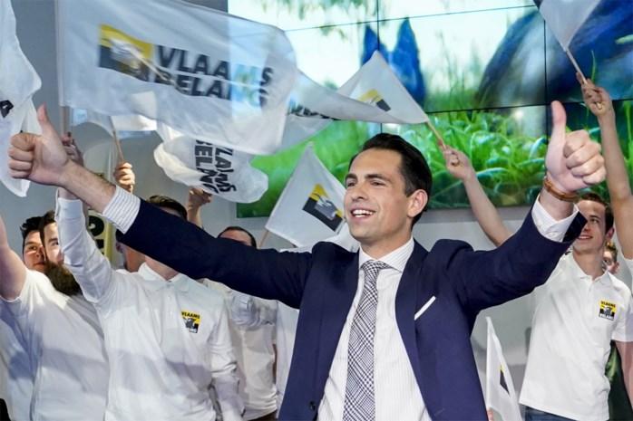 Tom Van Grieken enige kandidaat om zichzelf op te volgen als Vlaams Belang-voorzitter