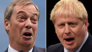 Nigel Farage stelt Johnson pro-brexit-alliantie voor