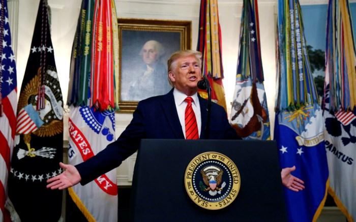 """Getuige: """"Trump heeft details over dood IS-leider verzonnen"""""""