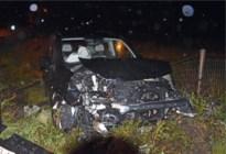 Twee bestuurders gewond bij zware klap