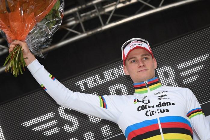 """Mathieu van der Poel na winst bij rentree: """"Ik heb het crossgevoel nog niet echt gevonden"""""""