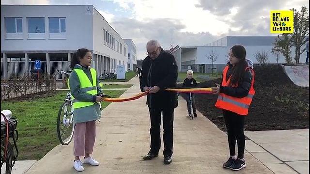 Nieuw fietspad in Beringen officieel geopend