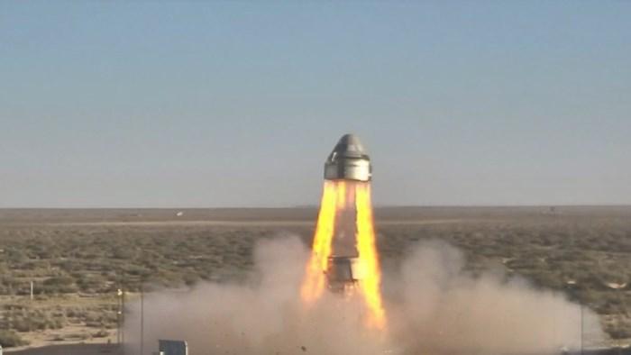 Noodtest met ruimtecapsule van Boeing toch een succes