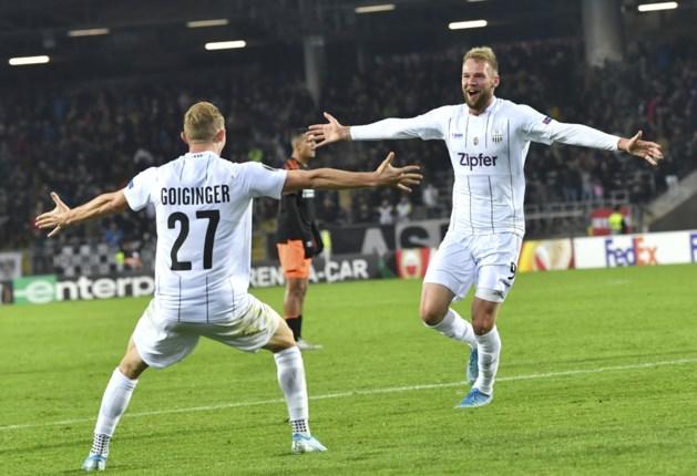 Sevilla kent geen genade met het Dudelange van Crasson, PSV krijgt oplawaai van LASK