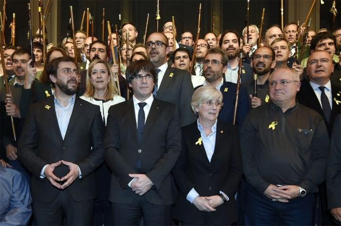 Brusselse onderzoeksrechter laat Catalaanse politici Puig en Comin vrij onder voorwaarden