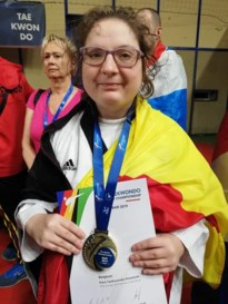 Melissa Engels tweemaal Europees kampioen para-taekwondo