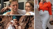 Gluren bij BV's: Astrid Coppens poseert in gouden bikini, Jani toont zijn toegetakeld lichaam