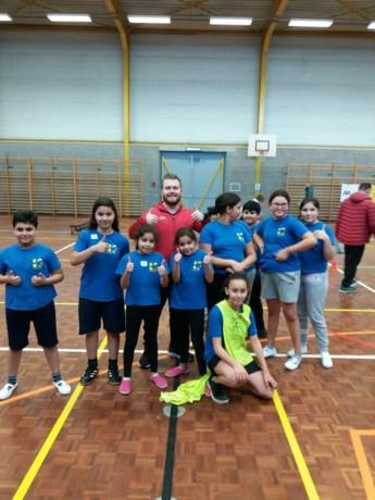 3 X 3 basketbal voor derde graad van de Europaschool