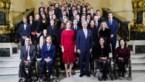 Koninklijke ontvangst voor Geens, Mertens en Simonet
