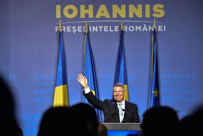 Huidig Roemeens president Iohannis favoriet om zichzelf op te volgen bij verkiezingen
