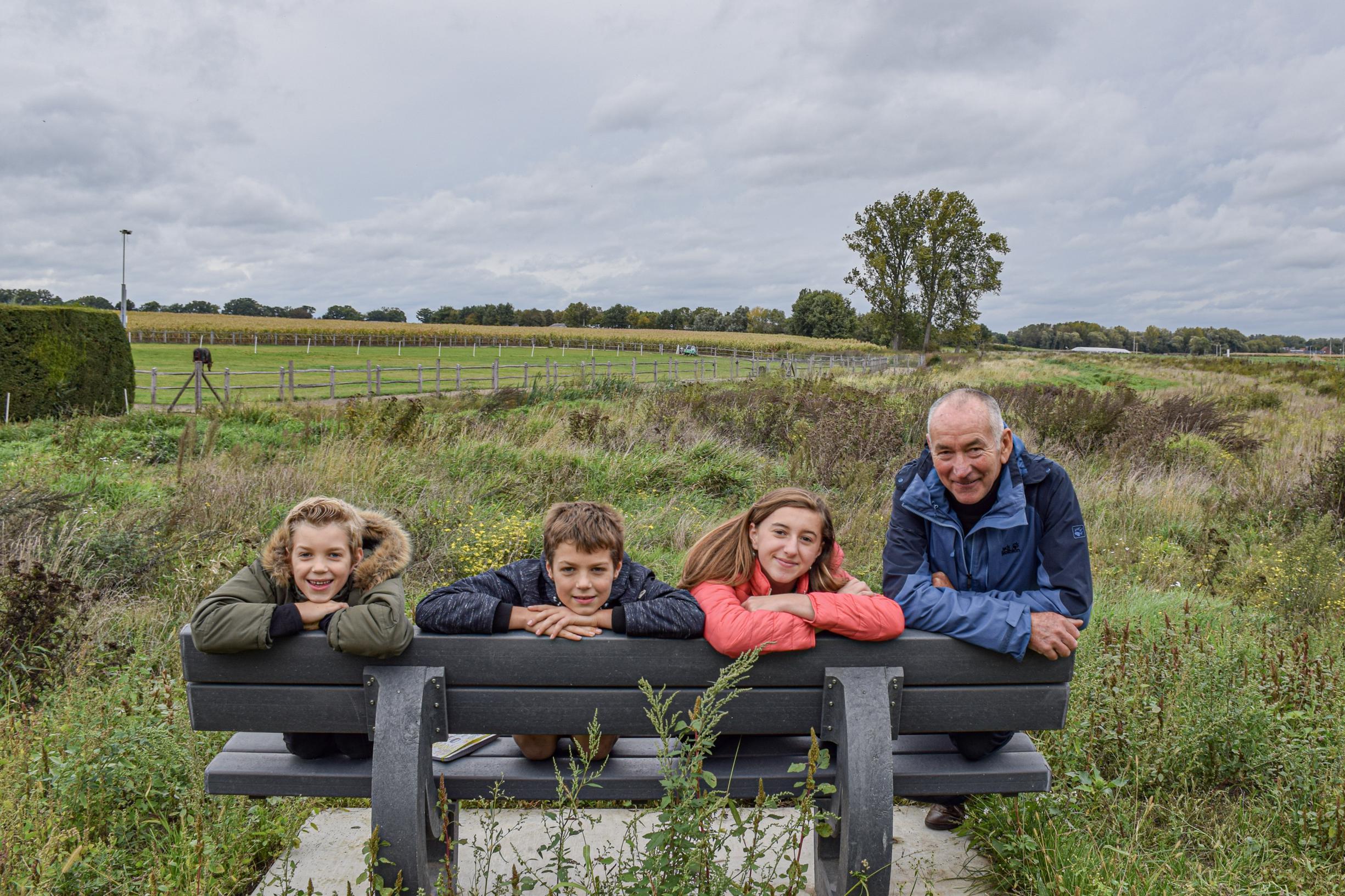 René Rutten krijgt klimaatbos voor zeventigste verjaardag (Kinrooi) - Het Belang van Limburg