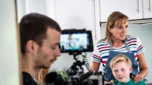 Sinterklaas samen met An Swartenbroekx in nieuwe bioscoopfilm
