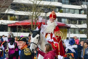 Sinterklaas toch met de boot aangekomen in Hasselt