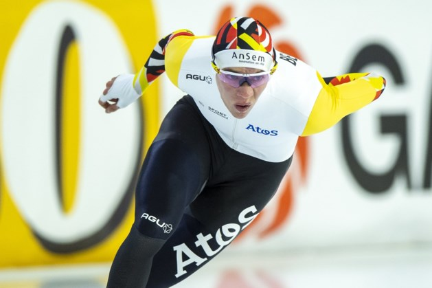 Bart Swings en Stien Vanhoutte pakken Belgische schaatstitels