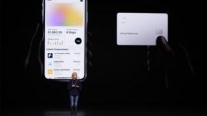 """Betaalkaart van Apple is """"seksistisch"""""""