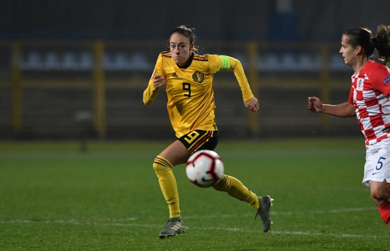 Tessa Wullaert wil meer spelen bij Manchester City: 'Maar ik maak me geen zorgen, mijn contract loopt af'