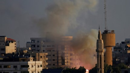 Raketten afgevuurd van Gaza op Israël na dood van leider al-Qudsbrigade